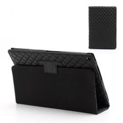 Stilingas atverčiamas dėklas - juodas (Xperia Tablet Z)