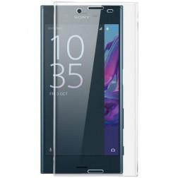 """""""Calans"""" Tempered Glass pilnai dengiantis apsauginis ekrano stiklas 0.2 mm - skaidrus (Xperia X Compact)"""
