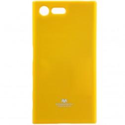 """""""Mercury"""" dėklas - geltonas (Xperia X Compact)"""