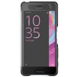 """""""Sony"""" Style Cover Touch atverčiamas dėklas - juodas (Xperia X Performance)"""