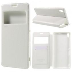 """""""Roar"""" Noble atverčiamas dėklas - baltas (Xperia XA Ultra)"""