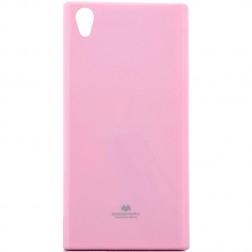 """""""Mercury"""" dėklas - šviesiai rožinis (Xperia XA1)"""