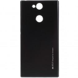 """""""Mercury"""" dėklas - juodas (Xperia XA2)"""