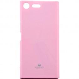 """""""Mercury"""" dėklas - šviesiai rožinis (Xperia XZ Premium)"""