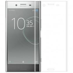 """""""Calans"""" Tempered Glass pilnai dengiantis apsauginis ekrano stiklas 0.2 mm - skaidrus (Xperia XZ1)"""