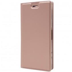 """""""Dux Ducis"""" Skin atverčiamas dėklas - rožinis (Xperia XZ1 Compact)"""