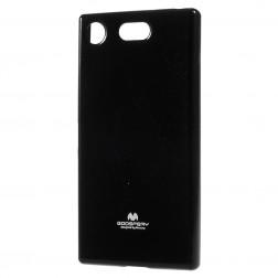 """""""Mercury"""" dėklas - juodas (Xperia XZ1 Compact)"""