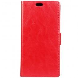Atverčiamas dėklas, knygutė - raudonas (Xperia XZ1 Compact)