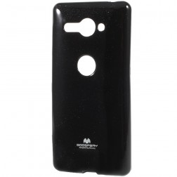 """""""Mercury"""" dėklas - juodas (Xperia XZ2 Compact)"""