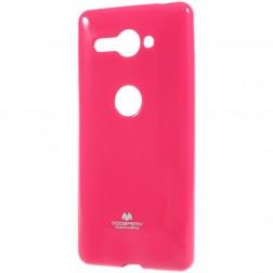 """""""Mercury"""" dėklas - tamsiai rožinis (Xperia XZ2 Compact)"""