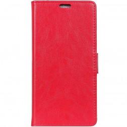 Atverčiamas dėklas, knygutė - raudonas (Xperia XZ2 Compact)