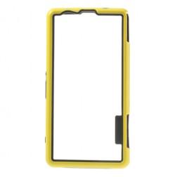 Silikoninis rėmelis (bamperis) - geltonas (Xperia Z1 compact)