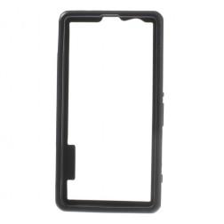 Silikoninis rėmelis (bamperis) - juodas (Xperia Z1 compact)