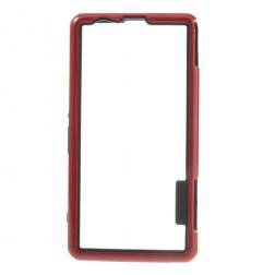 Silikoninis rėmelis (bamperis) - raudonas (Xperia Z1 compact)