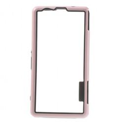 Silikoninis rėmelis (bamperis) - rožinis (Xperia Z1 compact)