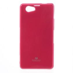 """""""Mercury"""" dėklas - rožinis (Xperia Z1 Compact)"""