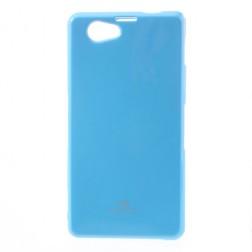 """""""Mercury"""" dėklas - šviesiai mėlynas (Xperia Z1 Compact)"""