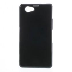 Silikoninis dėklas - juodas (Xperia Z1 compact)