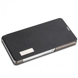"""""""Rock"""" Elegant atverčiamas dėklas - juodas (Xperia Z1 Compact)"""