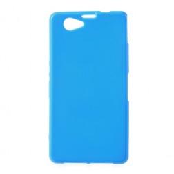 Silikoninis dėklas - mėlynas (Xperia Z1 compact)
