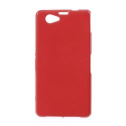 Silikoninis dėklas - raudonas (Xperia Z1 compact)