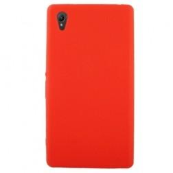 Silikoninis dėklas - raudonas (Xperia Z1)
