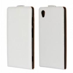 Vertikaliai atverčiamas dėklas - baltas (Xperia Z2)