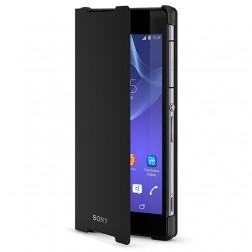 """Sony"" Style Cover Stand atverčiamas dėklas - juodas (Xperia Z2)"