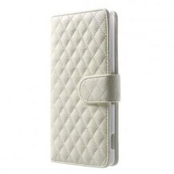 Elegantiškas dėklas, knygutė - baltas (Xperia Z3)