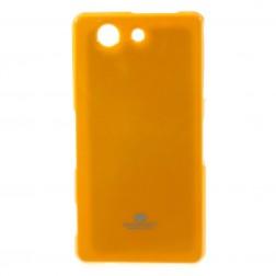 """""""Mercury"""" dėklas - geltonas (Xperia Z3 Compact)"""