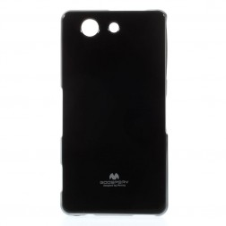"""""""Mercury"""" dėklas - juodas (Xperia Z3 Compact)"""