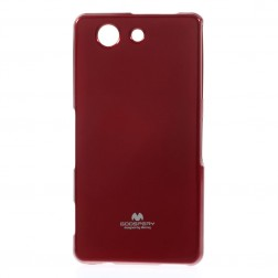"""""""Mercury"""" dėklas - raudonas (Xperia Z3 Compact)"""