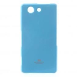 """""""Mercury"""" dėklas - šviesiai mėlynas (Xperia Z3 Compact)"""
