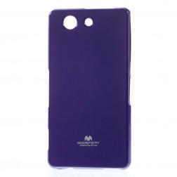 """""""Mercury"""" dėklas - violetinis (Xperia Z3 Compact)"""
