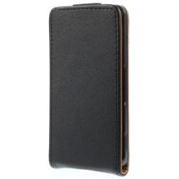 Klasikinis atverčiamas dėklas - juodas (Xperia Z3 Compact)