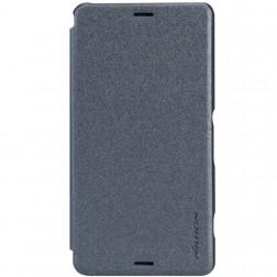 """""""Nillkin"""" Sparkle atverčiamas dėklas - pilkas (Xperia Z3 Compact)"""