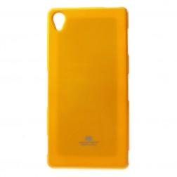 """""""Mercury"""" dėklas - geltonas (Xperia Z3)"""