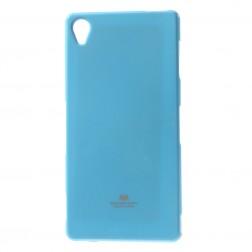 """""""Mercury"""" dėklas - šviesiai mėlynas (Xperia Z3)"""