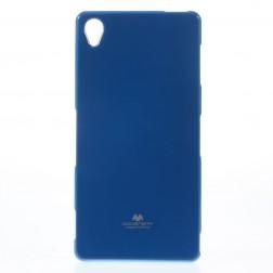 """""""Mercury"""" dėklas - tamsiai mėlynas (Xperia Z3)"""