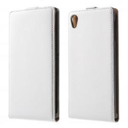 Klasikinis atverčiamas dėklas - baltas (Xperia Z3+)