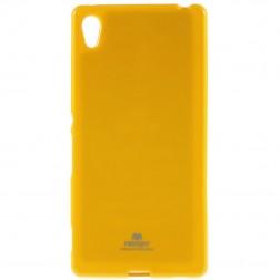 """""""Mercury"""" dėklas - geltonas (Xperia Z3+)"""