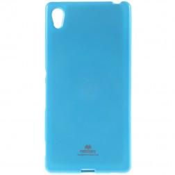 """""""Mercury"""" dėklas - šviesiai mėlynas (Xperia Z3+)"""