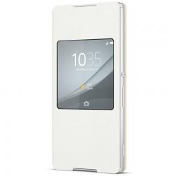 """""""Sony"""" Style Cover Window atverčiamas dėklas - baltas (Xperia Z3+)"""