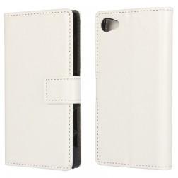 Atverčiamas dėklas - baltas (Xperia Z5 Compact)