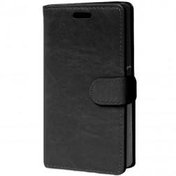 Atverčiamas dėklas - juodas (Xperia Z5 Compact)