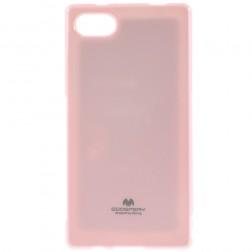 """""""Mercury"""" dėklas - šviesiai rožinis (Xperia Z5 Compact)"""