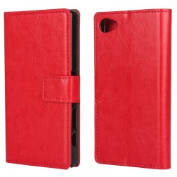 Atverčiamas dėklas - raudonas (Xperia Z5 Compact)