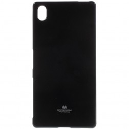 """""""Mercury"""" dėklas - juodas (Xperia Z5 Premium)"""