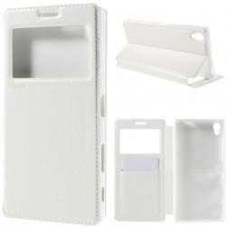 """""""Roar"""" Noble atverčiamas dėklas - baltas (Xperia Z5 Premium)"""