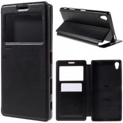 """""""Roar"""" Noble atverčiamas dėklas - juodas (Xperia Z5 Premium)"""